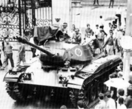 Tanque golpe 64