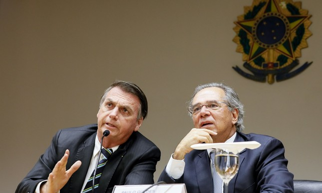 Bozo e Paulo Guedes